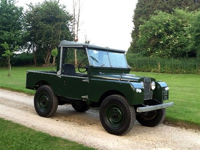 Lot 67-1955 Land Rover 86
