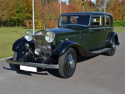 Lot 44-1934 Rolls-Royce Phantom II Sports Limousine