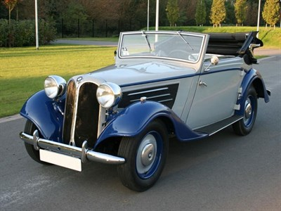 Lot 72-1936 BMW 319 Cabriolet