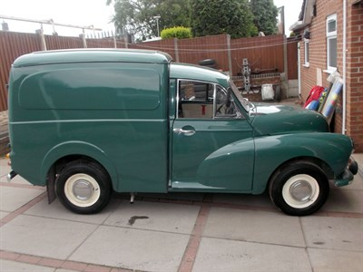 Lot 7 - 1969 Morris Minor Van