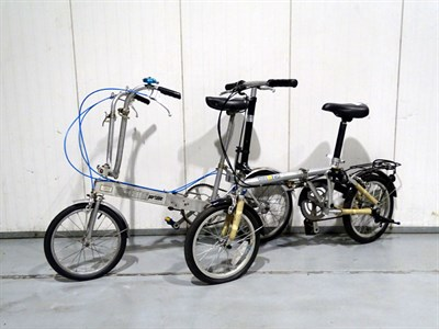 Lot 14-Folding Bicycles