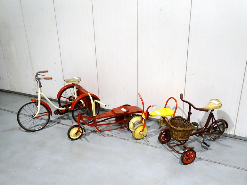 Lot 2-Childs Tricycles