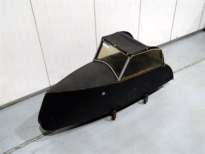 Lot 23-Watsonian Bicycle Sidecar