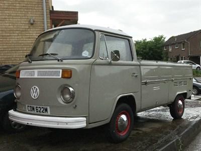 Lot 90 - 1974 Volkswagen Type 2 Pickup