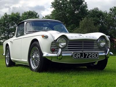 Lot 61-1966 Triumph TR4A IRS