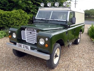Lot 85 - 1964 Land Rover 109 Series IIA