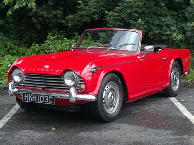 Lot 29-1965 Triumph TR4