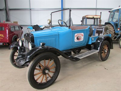 Lot 3-1922 Willys Overland Model 4A Truck