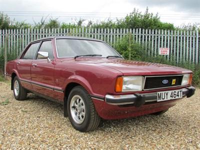 Lot 21 - 1979 Ford Cortina 2000 Ghia