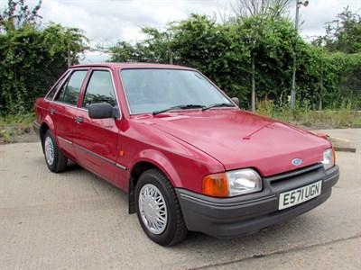 Lot 92 - 1987 Ford Escort 1.4 GL