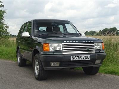 Lot 5-1995 Range Rover 4.6 HSE