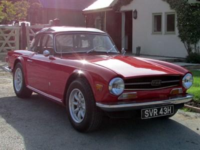 Lot 10-1974 Triumph TR6