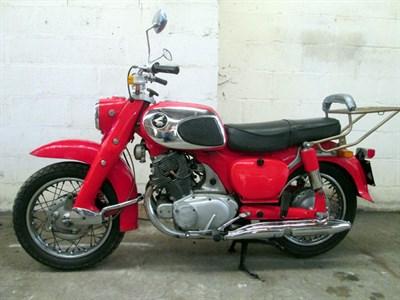 Lot 29-1964 Honda C72 Dream