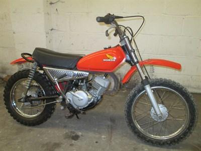 Lot 33-1974 Honda MR50