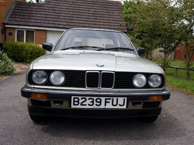 Lot 2-1985 BMW 316