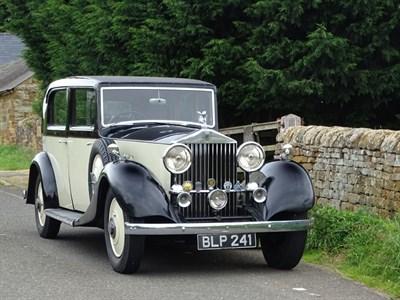 Lot 67-1934 Rolls-Royce 20/25 Saloon