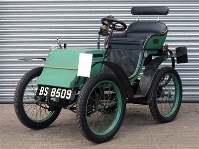 Lot 47 - 1899 Phebus 2 1/4hp Forecar