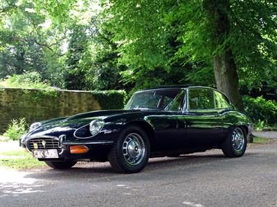 Lot 70-1972 Jaguar E-Type V12 Coupe