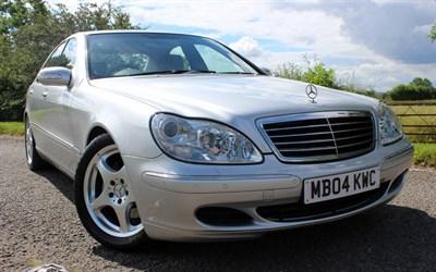 Lot 40 - 2004 Mercedes-Benz S 320 CDI