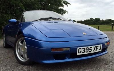 Lot 35-1990 Lotus Elan SE Turbo