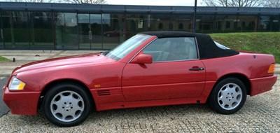 Lot 96 - 1994 Mercedes-Benz SL 280