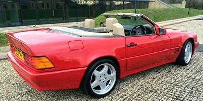 Lot 20 - 1991 Mercedes-Benz 500 SL