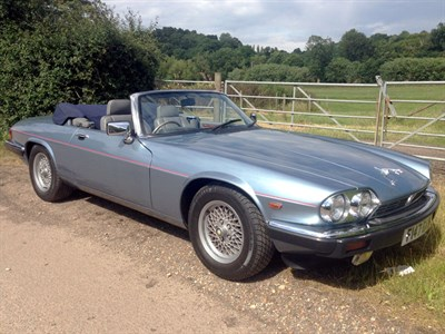 Lot 36-1989 Jaguar XJ-S 5.3 Convertible