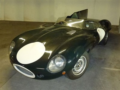 Lot 72 - 1963/1990s Jaguar D-Type Evocation