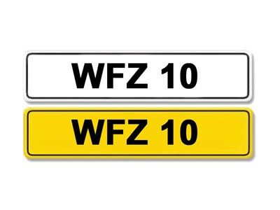 Lot 5-Registration Number WFZ 10