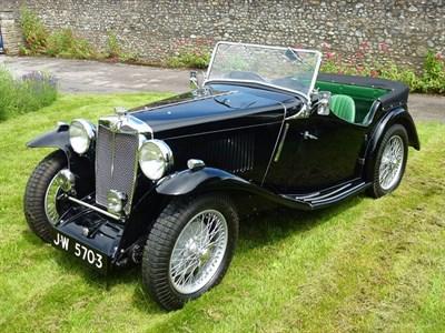 Lot 75-1934 MG N-Type Magnette