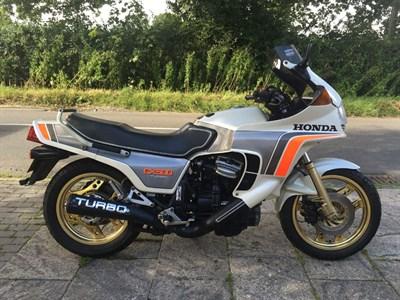 Lot 28-1982 Honda CX500 Turbo