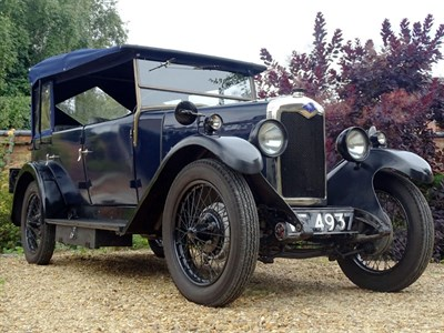 Lot 89-1929 Riley 9 Tourer