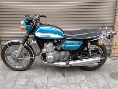 Lot 4-1972 Suzuki GT750