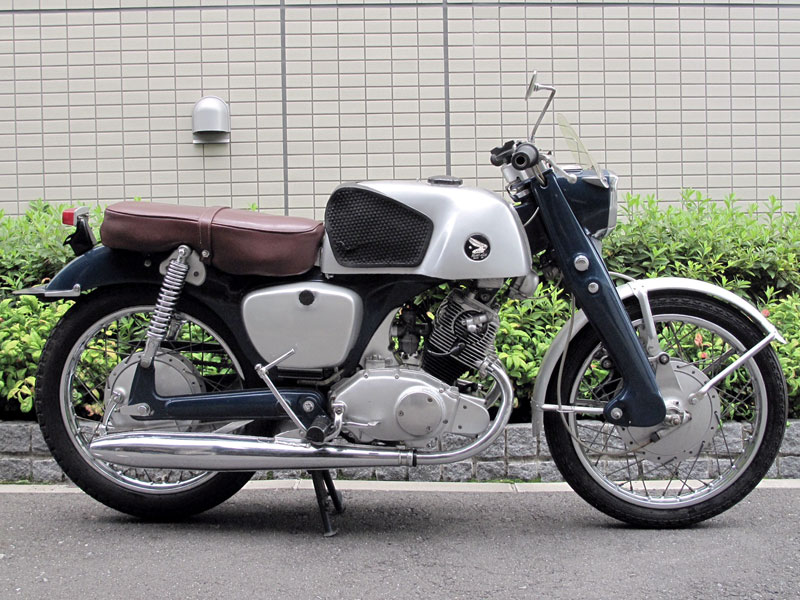 Lot 57-1961 Honda CB92