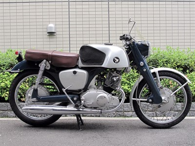 Lot 40-1961 Honda CB92
