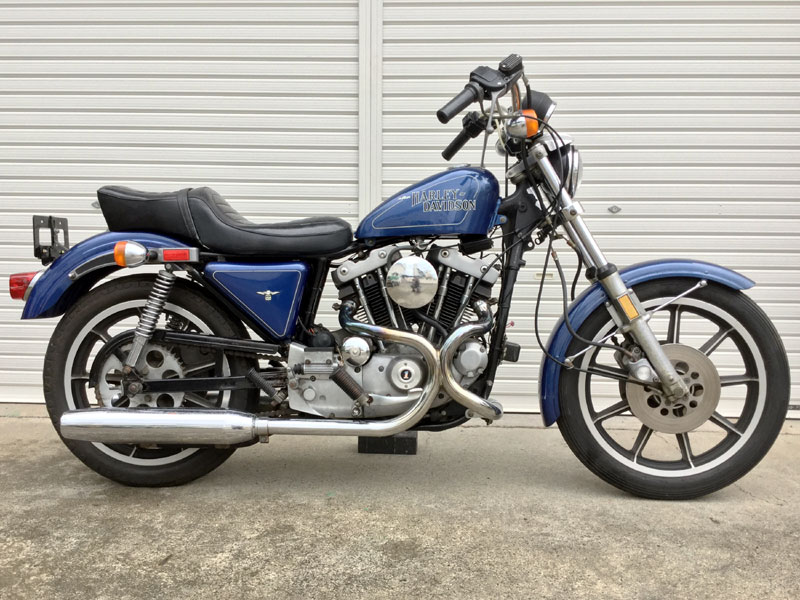 Lot 39-1979 Harley Davidson Sportster XLH1000