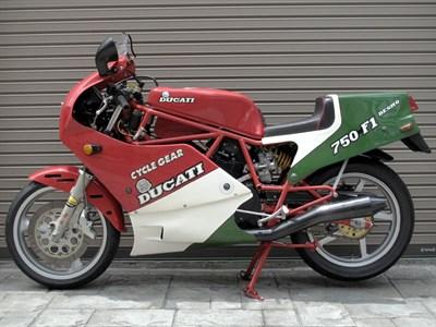Lot 19-1986 Ducati 750 F1