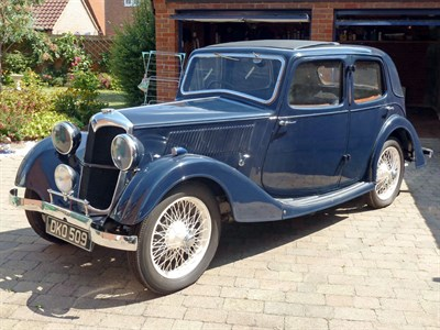 Lot 21 - 1937 Riley 9 Merlin
