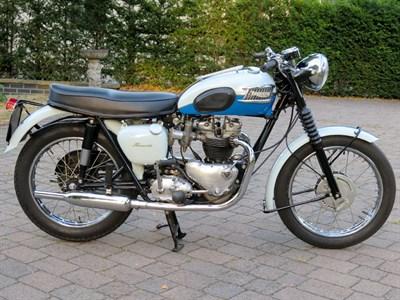Lot 14-1961 Triumph T120 Bonneville