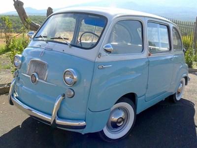 Lot 35-1961 Fiat 600 Multipla