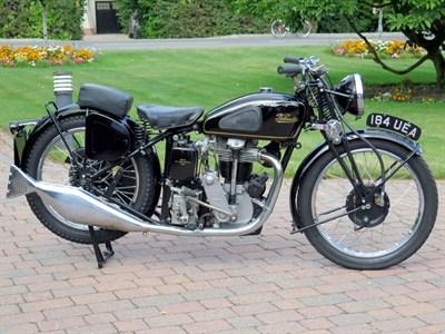 Lot 46-1940 Velocette KSS