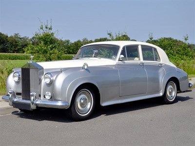 Lot 73-1960 Rolls-Royce Silver Cloud II