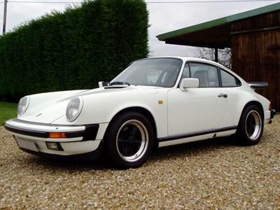 Lot 95-1989 Porsche 911 Carrera 3.2 Sport