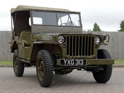 Lot 18-1943 Ford GPW Jeep