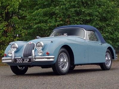 Lot 86-1959 Jaguar XK150 SE 3.4 Litre Drophead Coupe