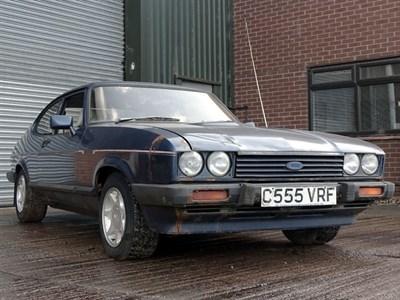 Lot 1 - 1986 Ford Capri 2.8i
