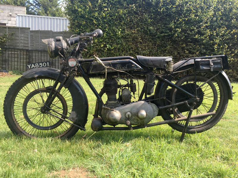 Lot 92-1924 Sunbeam Model 1