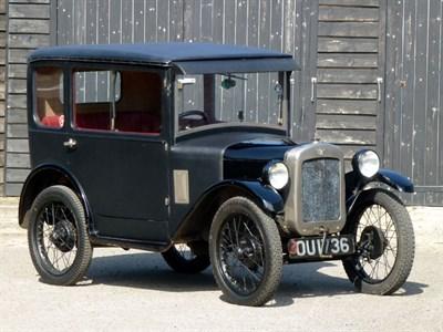 Lot 2-1929 Austin Seven RK Fabric Saloon