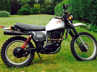 Lot 22 - 1981 Yamaha XT500