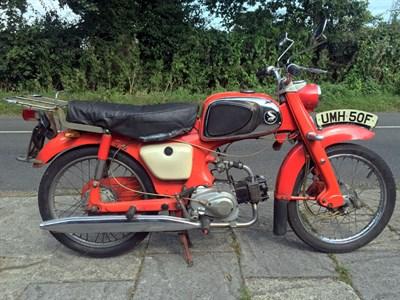 Lot 11 - 1968 Honda C114 Sports Cub
